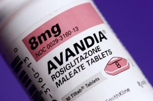 Avandia (Rosiglitazone) Side Effects
