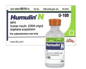 Humulin N (NPH) Insulin Peak Times, Onset and Duration of Action