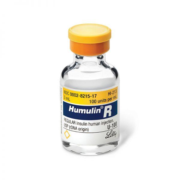 Humulin R Vials