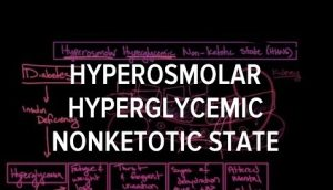 Hyperosmolar Hyperglycemic Nonketotic Syndrome - Signs, Symptoms and Treatment