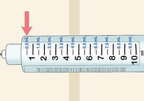 Insulin Syringes Measurements