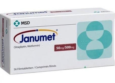 Janumet Dosage