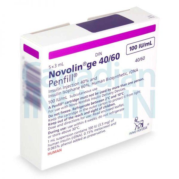 Novolin ge 40 60 penfill cartridge