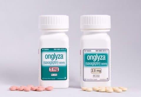 Onglyza (Saxagliptin) 2.5mg, 5mg Side Effects