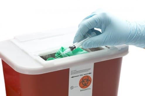 Sharps and Expired Insulin Vials Disposal