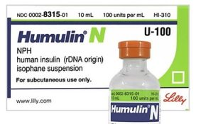 What is the Humulin N Insulin Dosage