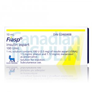 fiasp insulin vial