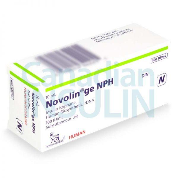 novolin ge nph vials