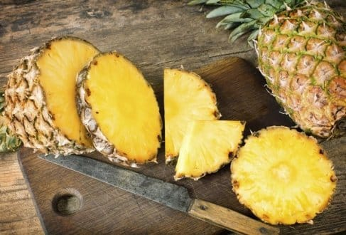 Diabetes treatment with pineapple